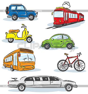 City Transport | Stock Vector Graphics |ID 3123597