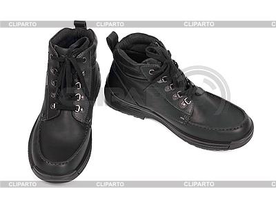 Paar schwarze Stiefel | Foto mit hoher Auflösung |ID 3159336