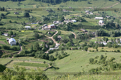 Mountain village | Foto stockowe wysokiej rozdzielczości |ID 3060744