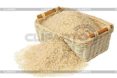 Basket of rice | High resolution stock photo |ID 3061011