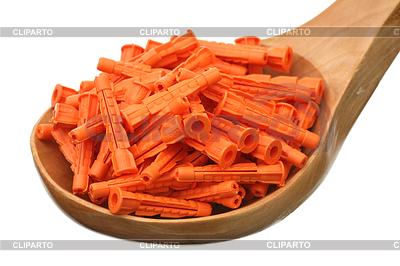 Orange dowels | High resolution stock photo |ID 3223238