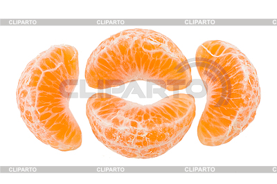 Slices of tangerine | High resolution stock photo |ID 3067346