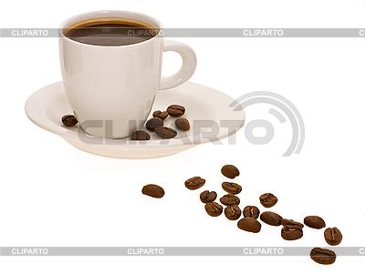 커피와 커피 콩 컵 | 높은 해상도 사진 |ID 3067396