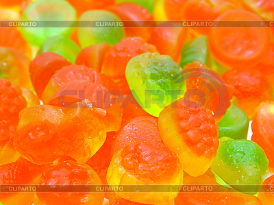 Fruit multi-colored candies   High resolution stock photo  ID 3068591