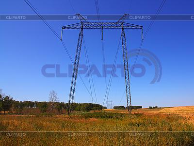 필드 근처 전력망 | 높은 해상도 사진 |ID 3068616