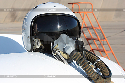 Protective helmet of the pilot | High resolution stock photo |ID 3068618