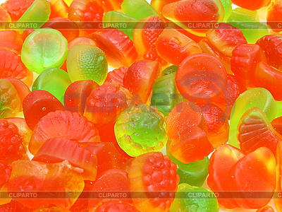 Fruit multi-colored candies | High resolution stock photo |ID 3068775
