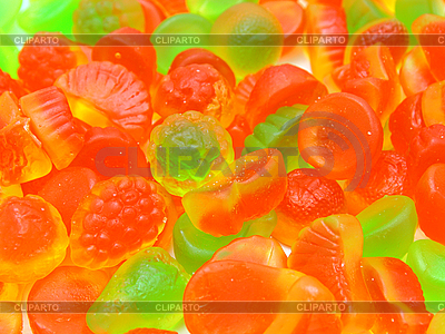 Разноцветный мармелад | Фото большого размера |ID 3068776