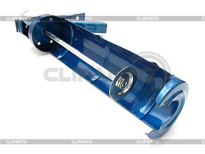 Pistolet na hermetyczny budynek | Foto stockowe wysokiej rozdzielczości |ID 3068836