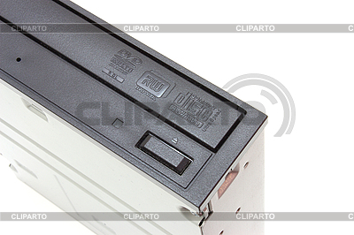 DVD drive with disk, computer device | High resolution stock photo |ID 3068848