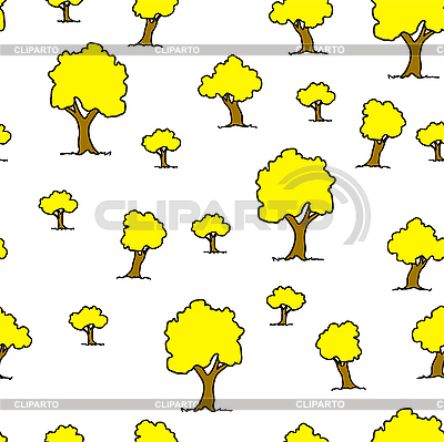 Seamless tree plant pattern background in   Stock Vector Graphics  ID 3069072