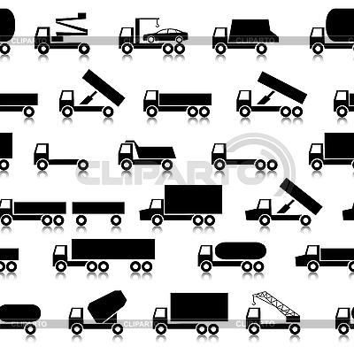 Background of trucks   Stock Vector Graphics  ID 3099993