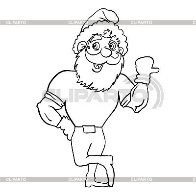 Weihnachtsmann | Stock Vektorgrafik |ID 3100315