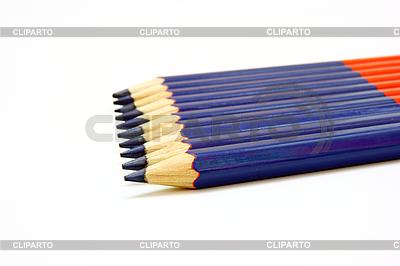 Blaue Bleistifte | Foto mit hoher Auflösung |ID 3101511