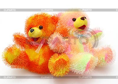 Children's bright beautiful soft toy  | High resolution stock photo |ID 3102094