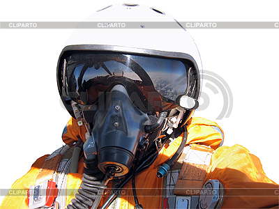 Das Militär Piloten im Flugzeug | Foto mit hoher Auflösung |ID 3103448