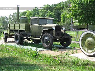 Old military technology on in museum Russia Moscow | Foto stockowe wysokiej rozdzielczości |ID 3103481