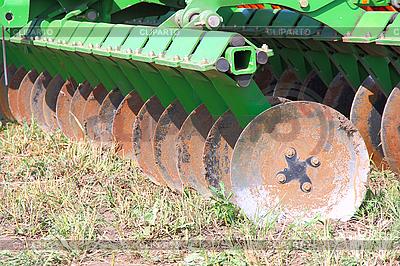 Disc harrow  | Foto stockowe wysokiej rozdzielczości |ID 3103541