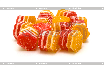 Multi-coloured fruit candy, fruit jelly | High resolution stock photo |ID 3103589