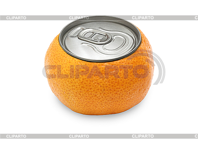 Tangerine with cover of gin   High resolution stock photo  ID 3124347