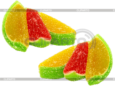 Chewing marmalade multi-colored all sorts | High resolution stock photo |ID 3320671