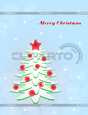 Christmas tree | Stock Vector Graphics |ID 3119347