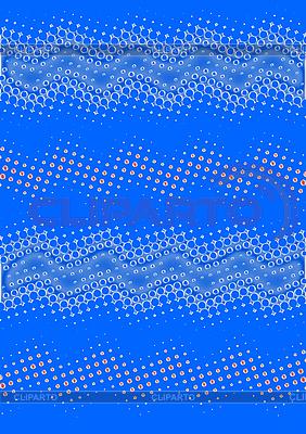 Abstrakter bunter Hight-Tech-Hintergrund mit Wellen | Illustration mit hoher Auflösung |ID 3072094