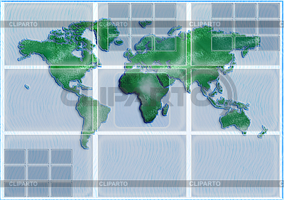 World map | High resolution stock illustration |ID 3074404