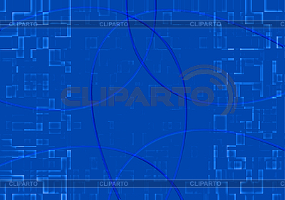 Abstract background of mosaic blue tiles | High resolution stock illustration |ID 3075247