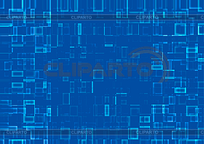 Abstract background of mosaic blue tiles   High resolution stock illustration  ID 3075249