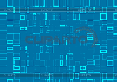 Abstract background of mosaic blue tiles | High resolution stock illustration |ID 3075250