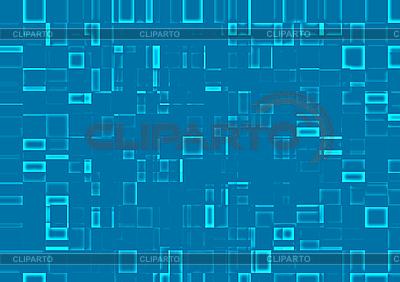 抽象的马赛克背景的蓝色瓷砖 | 高分辨率插图 |ID 3075250