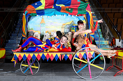 Harlequin and Colombina | High resolution stock photo |ID 3078970