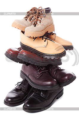 Boots stack   High resolution stock photo  ID 3087642