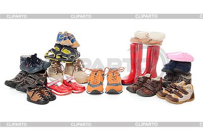 Buty dla dzieci i buty | Foto stockowe wysokiej rozdzielczości |ID 3087652