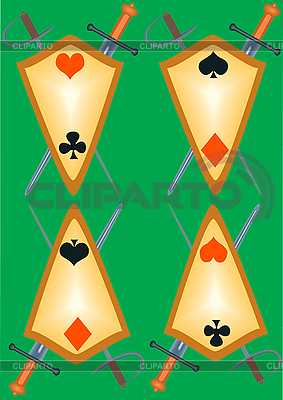 Cover for playing cards | High resolution stock illustration |ID 3080464