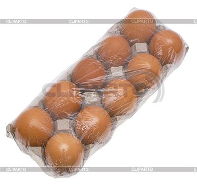 Яйца в упаковке   Фото большого размера  ID 3080560