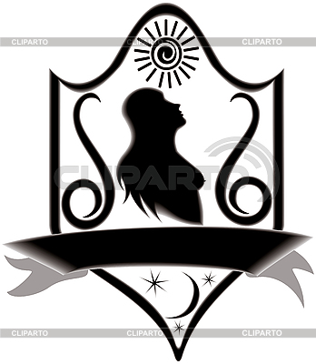 Signboard with virgo zodiac | Stock Vector Graphics |ID 3081179