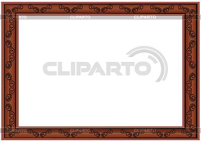 Rahmen für das Bild | Stock Vektorgrafik |ID 3081208