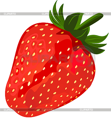 Ripe red strawberry | Stock Vector Graphics |ID 3210413