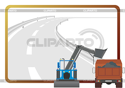 Road building machinery | Stock Vector Graphics |ID 3080945