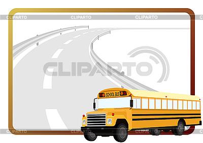 Szkolny autobus | Klipart wektorowy |ID 3080955