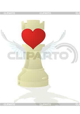 Amorous Chess White Castle | Stock Vector Graphics |ID 3083767