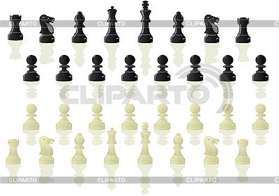 Schachfiguren | Stock Vektorgrafik |ID 3096955