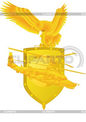 Combatir el helicóptero | Ilustración vectorial de stock |ID 3100469