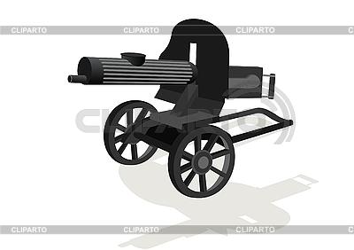 Machine gun | Stock Vector Graphics |ID 3127204