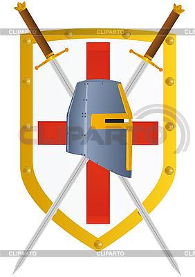 Schwert und Schild   Stock Vektorgrafik  ID 3160254