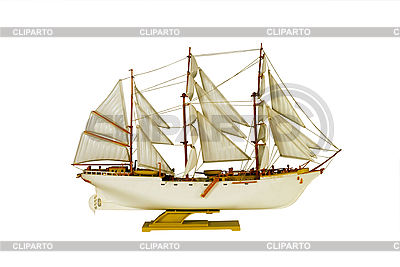 White sailing ship   High resolution stock photo  ID 3166819