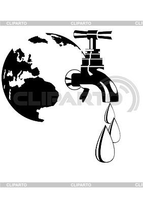 Water tap   Stock Vector Graphics  ID 3298293