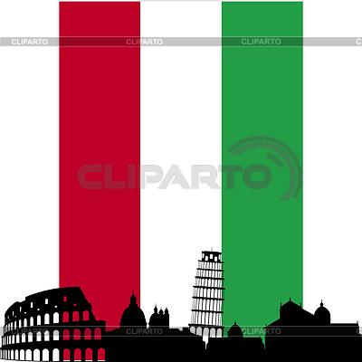 Włochy | Klipart wektorowy |ID 3349328